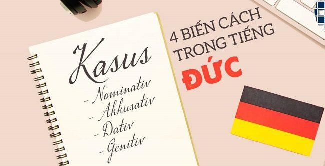 Phân biệt nhanh các loại biến cách trong tiếng Đức.
