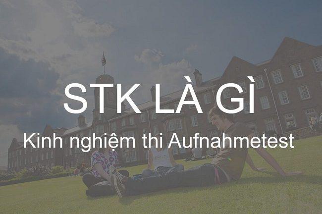 STK là gì? Kiến Thức không thể bỏ qua khi du học tại Đức